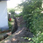 Knästorp- pågående grävning