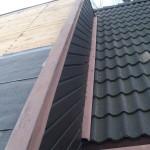 Tillbyggnad till innan påbörjad takrenovering